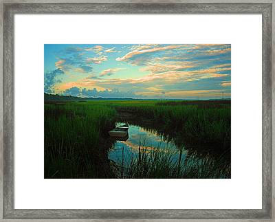 Quiet Gateway Framed Print by Tony DelSignore