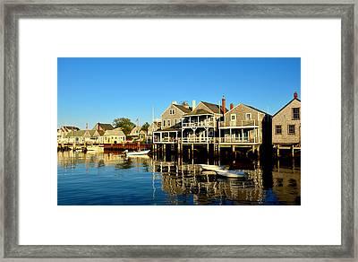 Quiet Harbor Framed Print