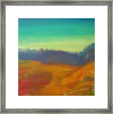 Framed Print featuring the painting Quiet by Keith Thue
