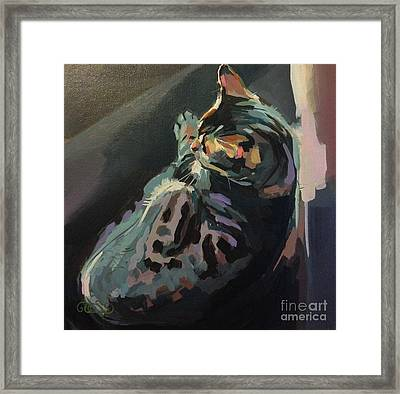 Quiet Framed Print by Kimberly Santini