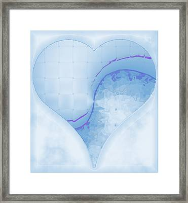 Quiet Kiss 1 Framed Print by Wendy J St Christopher