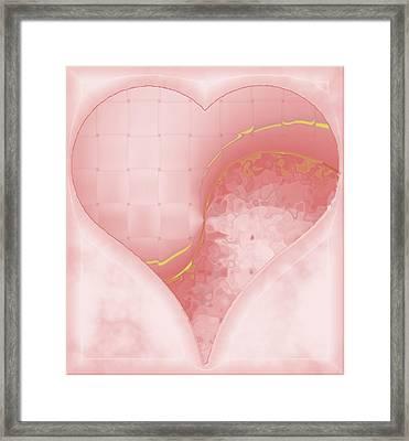 Quiet Kiss 3 Framed Print