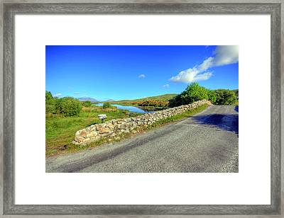 Quiet Man Bridge Framed Print by John Quinn