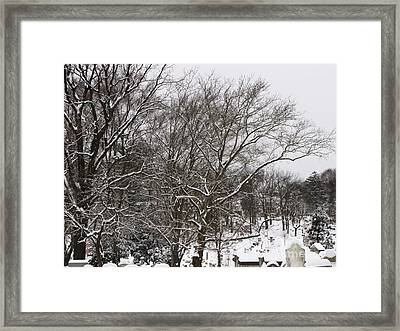 Framed Print featuring the photograph Quiet by Melissa Stoudt