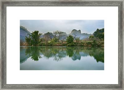 Quiet Moment 4 Framed Print