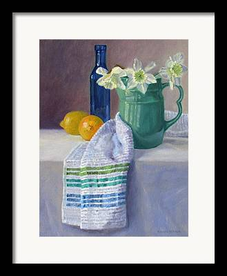 Old Pitcher Paintings Framed Prints