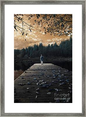 Quiet Moments Series Framed Print