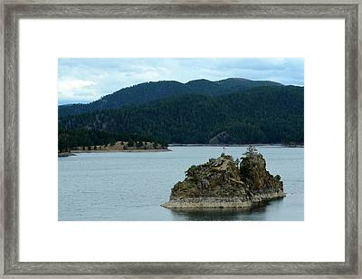 Quiet Morning At Pactola Framed Print