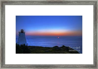Quiet Morning.. Framed Print