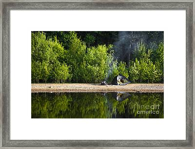 Quiet Morning Framed Print by Svetlana Sewell