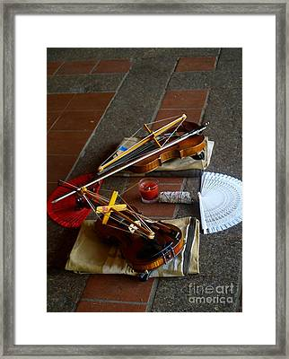 Quiet Music Framed Print