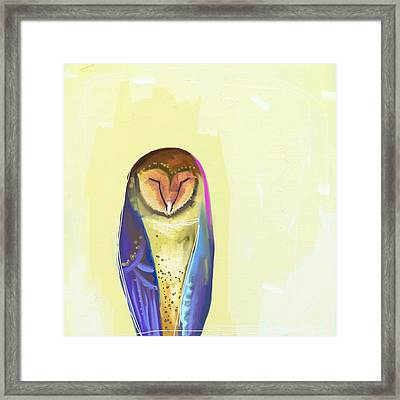 Quiet Owl Framed Print