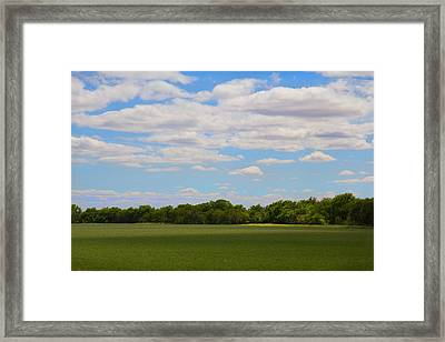 Quiet Pastoral Framed Print