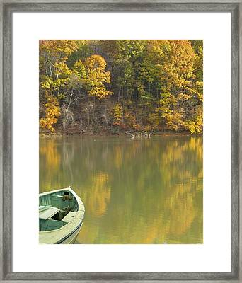 Quiet Pond Framed Print
