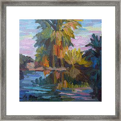Quiet Reflections Framed Print by Diane McClary