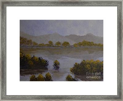 Quiet Reflections II Framed Print