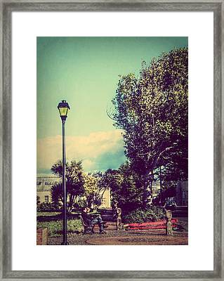 Quiet Reflections Framed Print by Melanie Lankford Photography