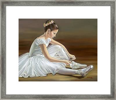 Quiet Repose Framed Print