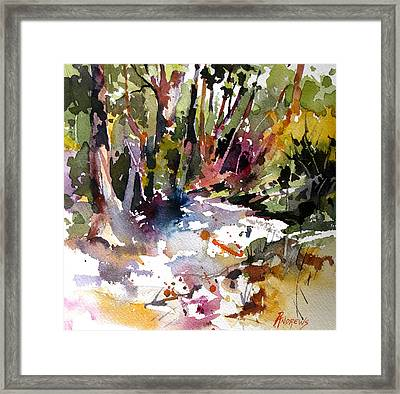 Quiet Respite Framed Print