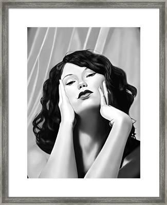 Quiet Splendor  Framed Print by Andrew Harrison