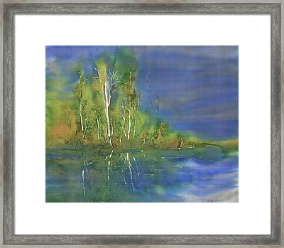 Quiet Stream  Framed Print