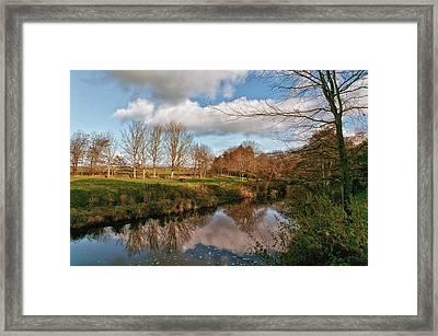 Quiet Stream Framed Print