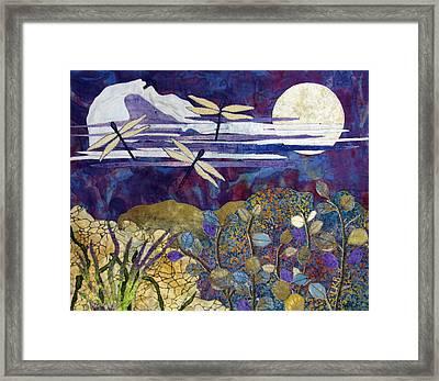 Quiet Summer Evening Framed Print by Lynda K Boardman