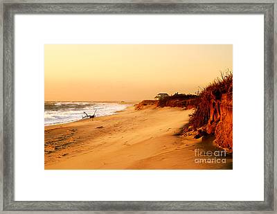 Quiet Summer Sunset Framed Print