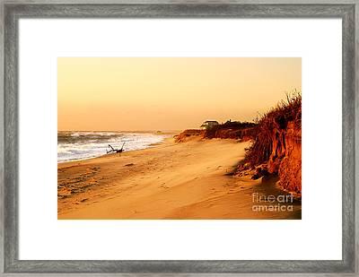 Quiet Summer Sunset Framed Print