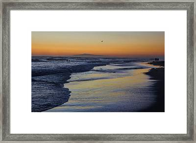 Quiet Framed Print by Tammy Espino