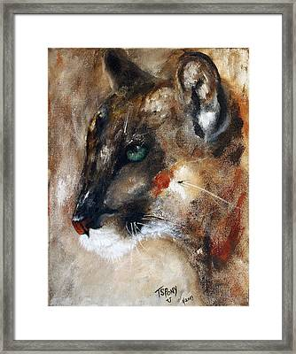 Quiet Thunder Seeker Framed Print