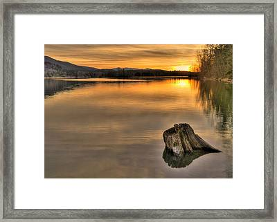 Quiet Times  Framed Print