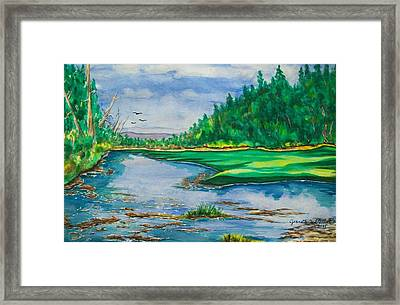 Quiet View Framed Print by Jeanette Stewart