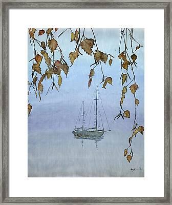 Quiet Water Framed Print