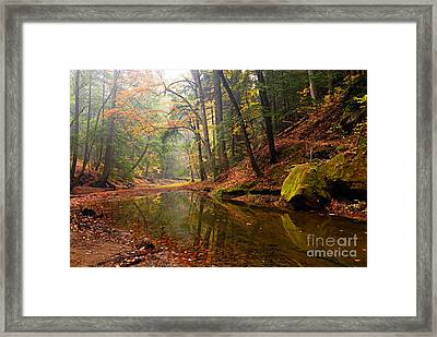 Quiet Waters Framed Print