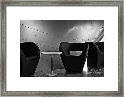 Quiet Zone Framed Print by Linda Bianic