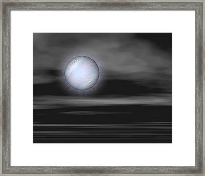 Quietly Framed Print