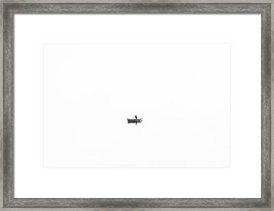 Quietness Framed Print