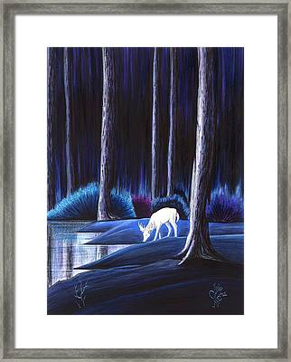 Quietude Framed Print
