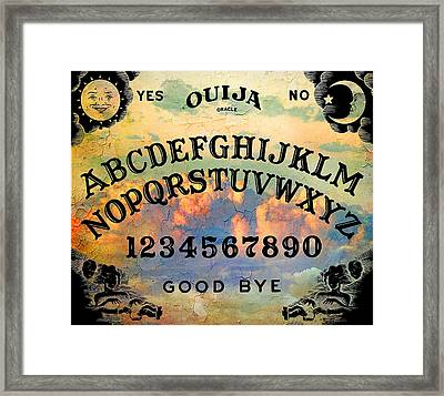 Quija Classic Framed Print
