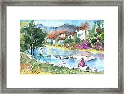 Quillan 03 Framed Print by Miki De Goodaboom
