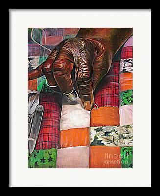 Artist Curtis James Framed Prints