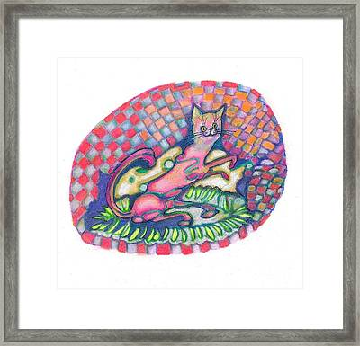 Quilty Framed Print