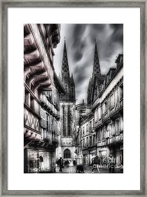 Quimper France Framed Print