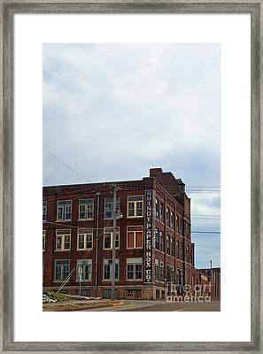 Quincy Paper Box Framed Print