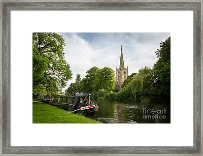 Quintessential English Countryside At Stratford-upon-avon Framed Print by OUAP Photography