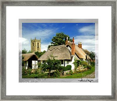 Quintessential Home Framed Print