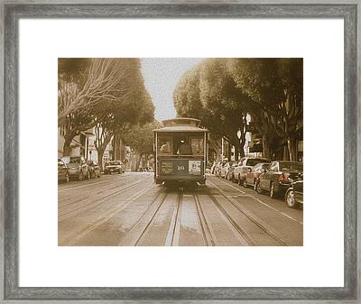 Quintessential San Francisco Framed Print