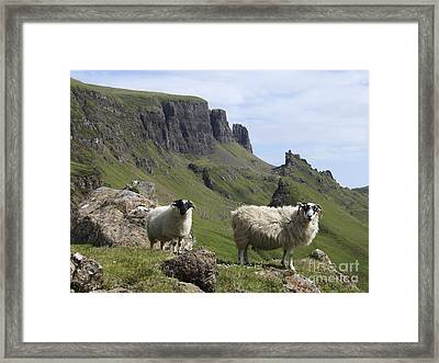 Quiraing - Isle Of Skye Framed Print by Phil Banks
