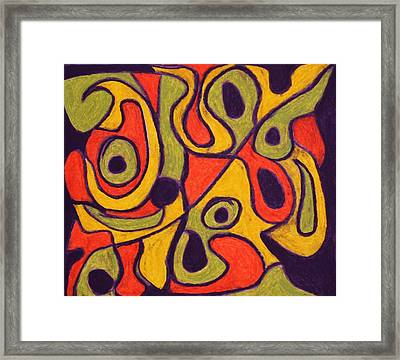 Quirky Framed Print by Brenda Chapman